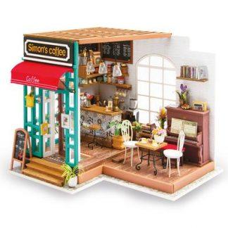DIY bouwpakket Cafeetje 'Simon's Coffee' - Robotime